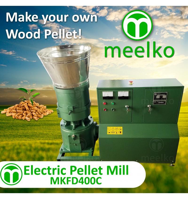 Electric Pellet Mill - MKFD400C - Wood